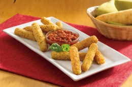 breaded cheese stick
